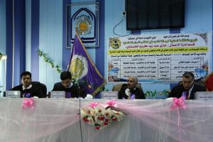 مناقشة الطالب غازي عبد زيد