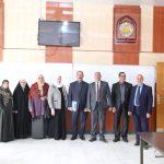 زيارة اللجنة الوزارية الخاصة بافتتاح برنامج الدكتوراة في قسم الاحصاء