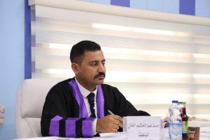 جانب من مناقشة الدبلوم العالي للطالب احمد عبد الحكيم حسن علوي