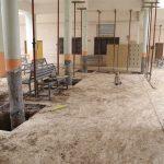 جانب من اعمال الصيانة في بناية كلية الادارة والاقتصاد / قسم الاحصاء