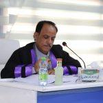 جانب من مناقشة الطالب محمد جبار هادي