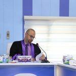 جانب من مناقشة الطالب احمد كاظم ملوح