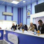 جانب من مناقشة الطالبة زينب جبار عبد الحسين