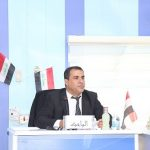 جانب من مناقشة الطالب صفاء مجيد مطشر