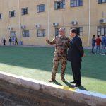 مساهمة الحشد الشعبي في جامعة كربلاء