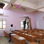 صيانة اجهزة التبريد في القاعات الدراسية